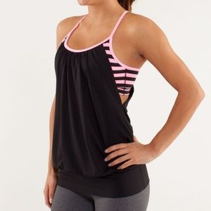 Lululemon | No Limits 2 in 1 Tank Top | Size 6